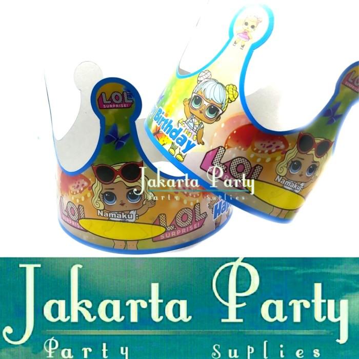 Foto Produk Topi Ultah Mahkota LOL Surprise / Topi Ultah LOL / Topi Ulang Tahun dari Jakarta Party