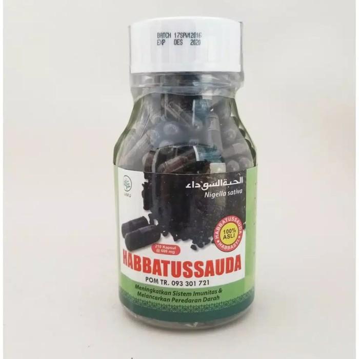 Foto Produk Habbatussauda HNU serbuk - Jinten Hitam kualitas kurma ajwa 210 kapsul dari Lapak Barokah