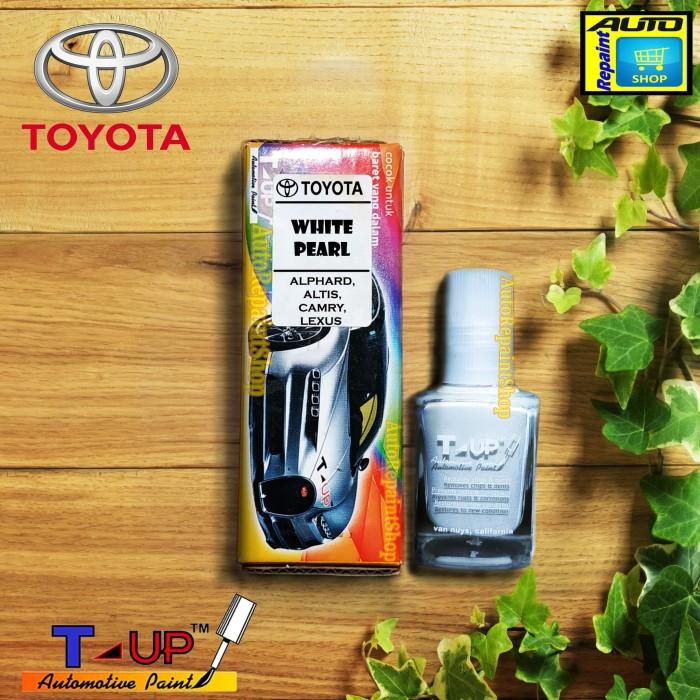 Foto Produk TOYOTA WHITE PEARL - CAT OLES - T-UP - TOUCH UP AUTOMOTIVE PAINT dari Auto Repaint Shop