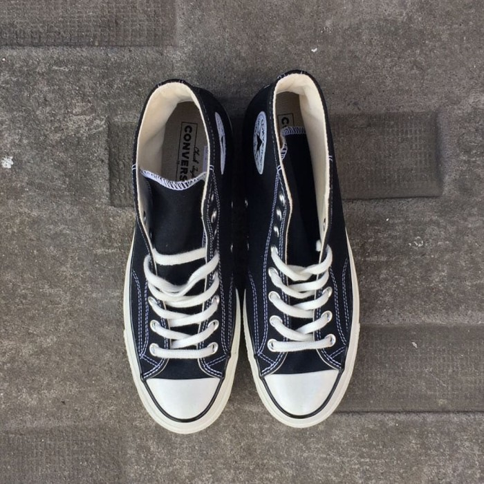 ankommer utförsäljning försäljning Storbritannien Jual CONVERSE CT 70S HI EGRET BLACK WHITE - Kota Bogor - Shop ...