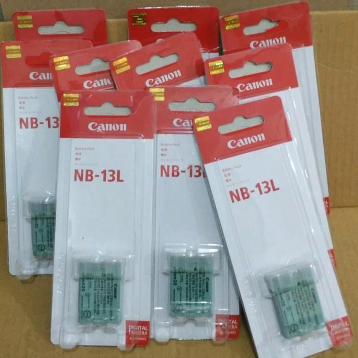 Foto Produk Baterai/battery/batre CANON NB-13L FOR CANON POWERSHOT G7X G 7X G7 X dari Grosir Aksesoris Kamera