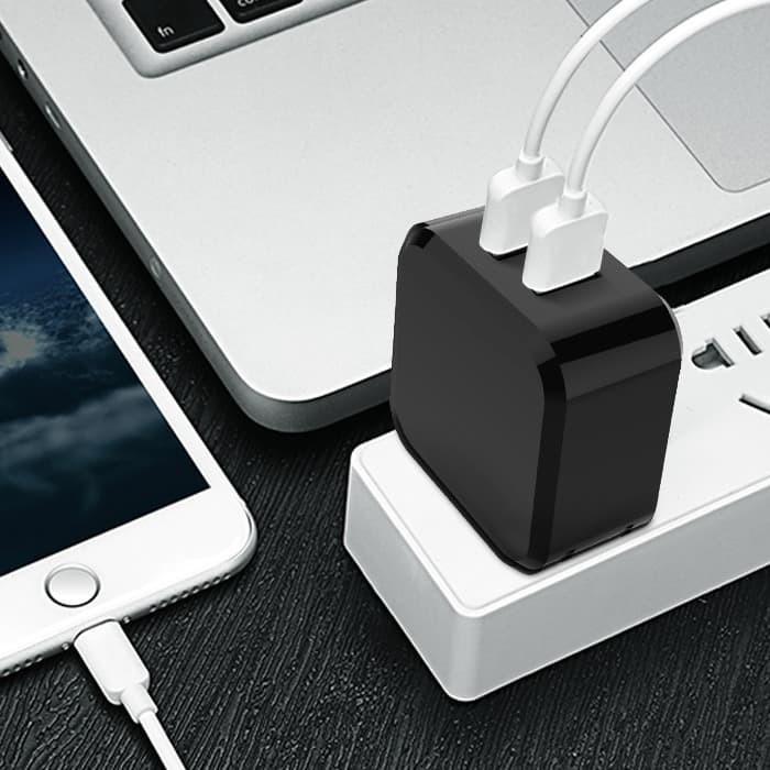 Foto Produk 2 USB NANVAN CHARGER ALL TIPE HP FAST CHARGING 3.1A dari Nanvan Official