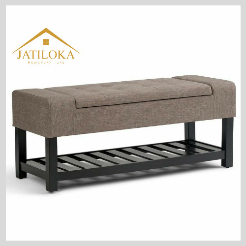 Sofa Puff Stool Kursi Storage