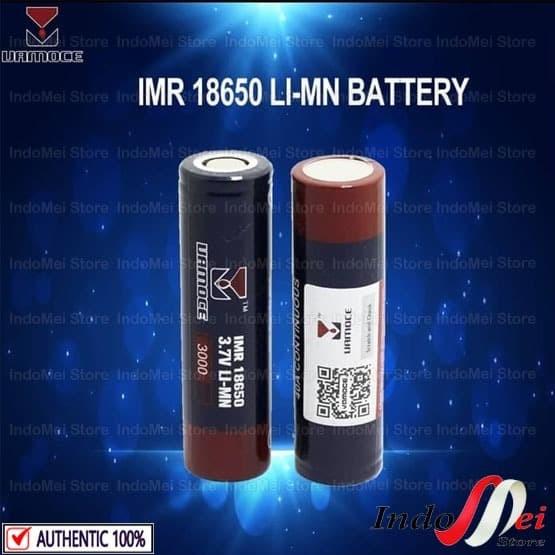 Foto Produk Authentic BATERAI VAMOCE IMR 18650 - Battery 3000mAh 40A dari Indomei Store