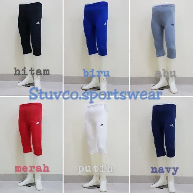 Jual Celana Baselayer Adidas 3 4 Legging Leging Wanita Pria Futsal Olahraga Jakarta Pusat Quthni Poldi Tokopedia