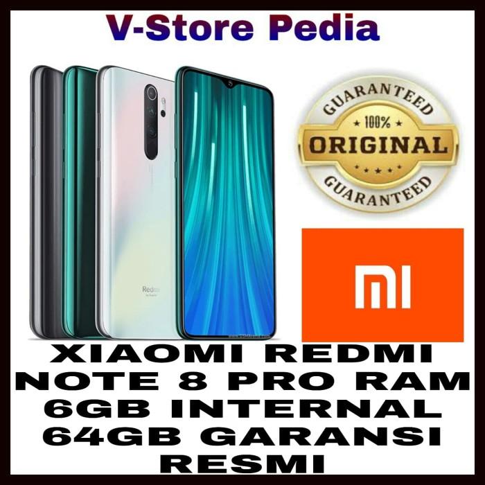 Foto Produk XIAOMI REDMI NOTE 8 PRO 6/64GB RAM 6GB INTERNAL 64GB GARANSI RESMI - Abu-abu dari V-Store Pedia