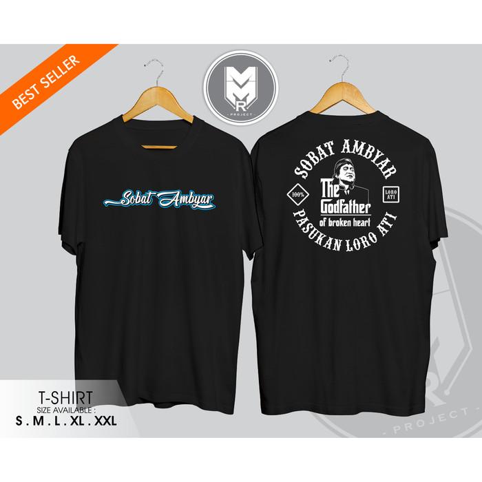 Jual Kaos Baju Tshirt Sobat Ambyar Pasukan Loro Ati V 3