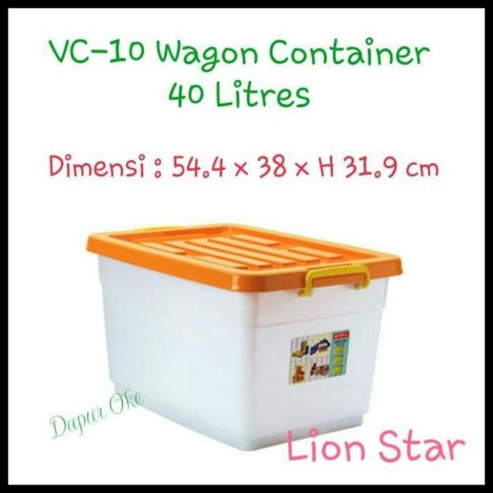 Jual Promo Besar Besaran Lion Star Wagon Container 40 Lt Vc 10 Box Jakarta Pusat Andika Jayanto Tokopedia