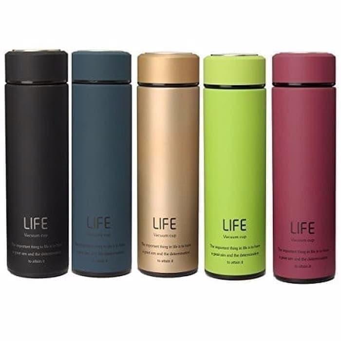 Foto Produk TERMOS LIFE 500ML VACUUM FLASK - TERMOS AIR PANAS 500ML dari PINZY Official Store