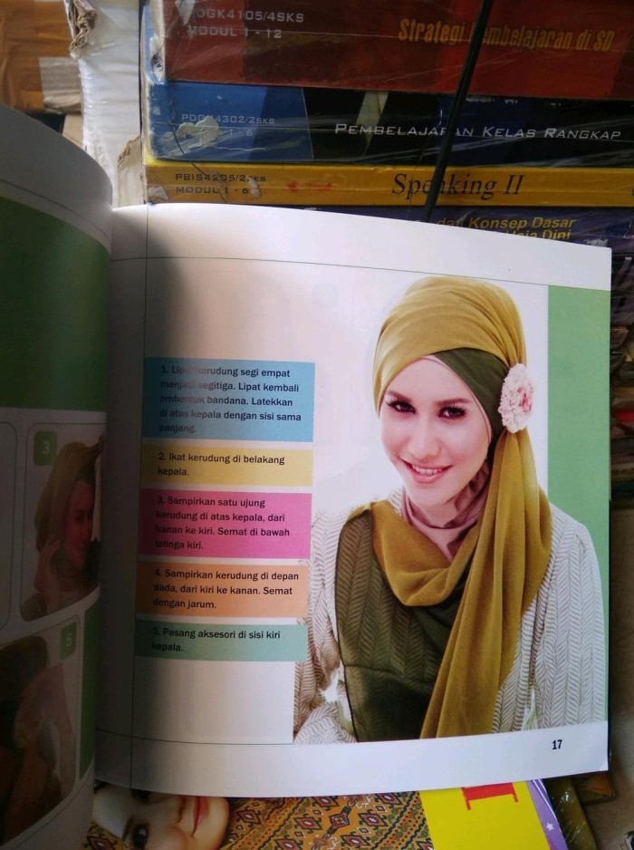 Jual Terlaris Original Buku Hijab Tutorial Kerudung Bercorak Full Colour Jakarta Selatan Listyaa Olshop Tokopedia
