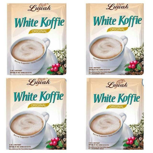 Foto Produk kopi luwak white koffie 10x20 gram dari pentagon digital shop