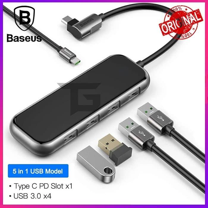 Foto Produk BASEUS HUB Mirror Series Multi functional Type C To USB 3.0 Port dari TopGear Superhero ID