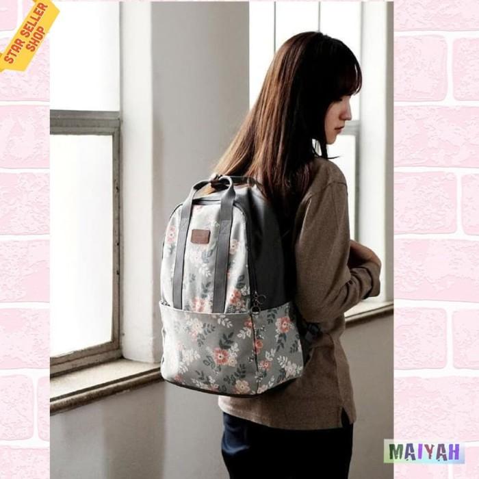 Foto Produk Backpack bag women / Tas Ransel wanita / Tas wanita punggung ORIGINAL - Pink Flamingo dari Spidernet_boyolali