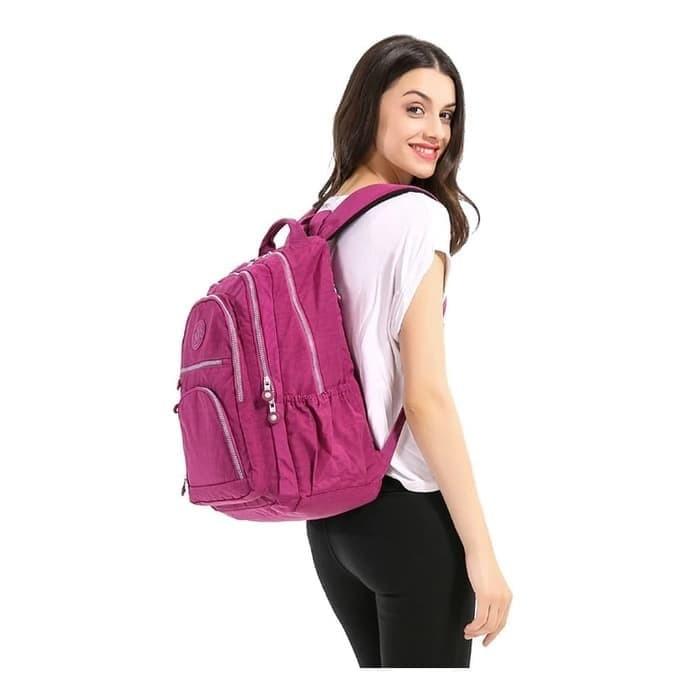 Foto Produk Tas Ransel Besar Punggung Backpack Big / anti Air Kualitas Original - Purple wine dari Spidernet_boyolali