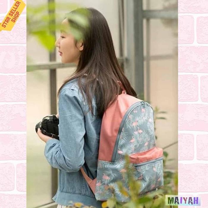 Foto Produk Tas Ransel wanita / Backpack Women / Tas Punggung Sekolah Kuliah / ORI - Allure dari Spidernet_boyolali