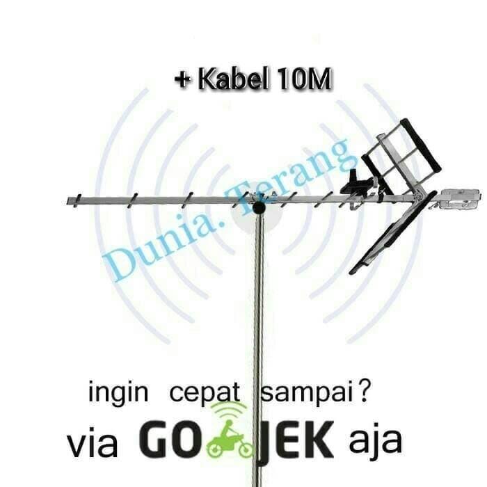 Foto Produk Sanex SN - 889DG Antena Tv Outdoor / Luar Digital LED , LCD , Tabung dari Dunia T