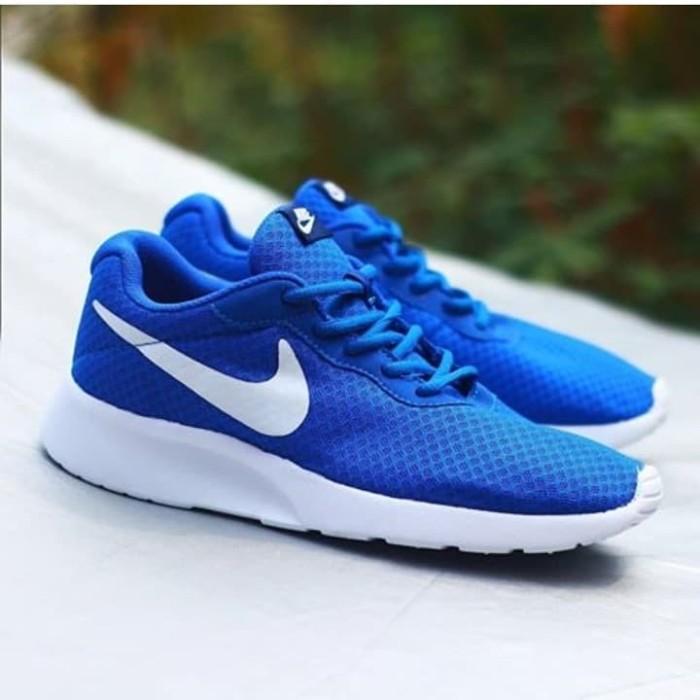 Jual Nike Tanjun - Blue White - Kota