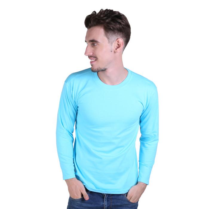 Atasan Kasual Tshirt Panjang Pria PLS 189