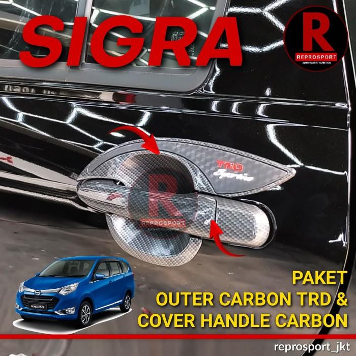 Foto Produk SIGRA PAKET OUTER CARBON TRD & COVER HANDLE CARBON dari REPROSPORT