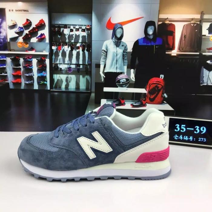 Jual new original new balance 574 nb574 light blue for women running shoe s - Jakarta Barat - Sulaiman Store 99 | Tokopedia