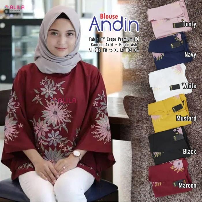 Foto Produk Baju Atasan Wanita Muslim Blouse/Tunik Andin Alila dari myfashion