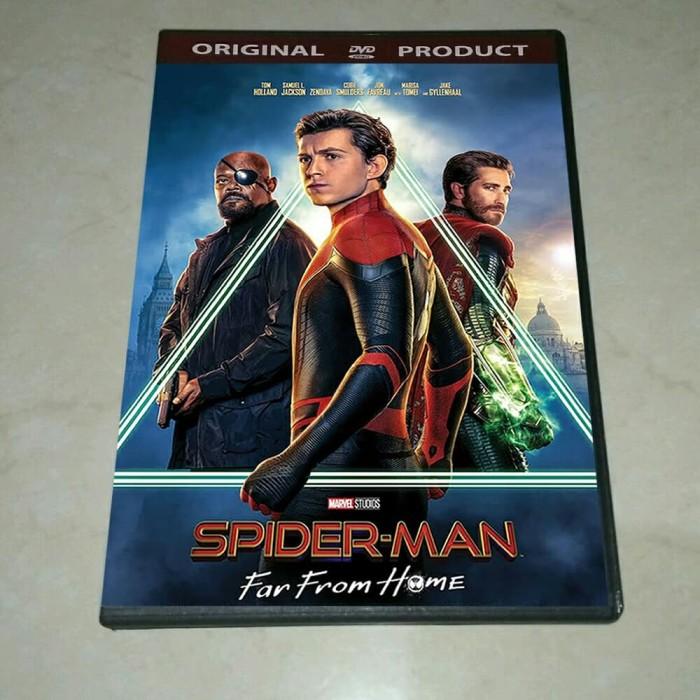 Jual Dvd Spiderman Far From Home 2019 Sub Indo Kab Banyuwangi Play Dvd Tokopedia