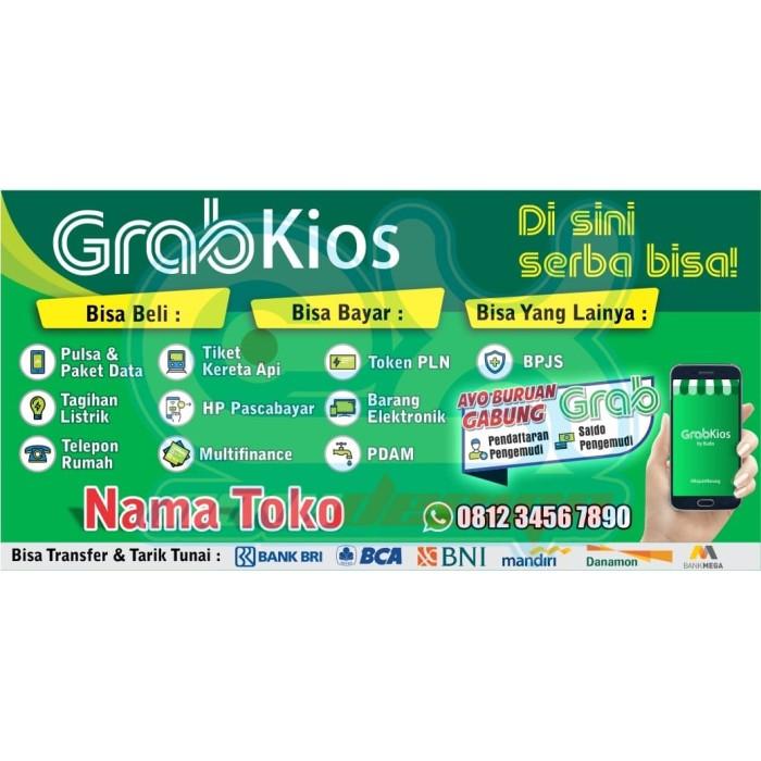 Jual Spanduk Banner GRAB KIOS - Kota Kediri - ExNow Design ...