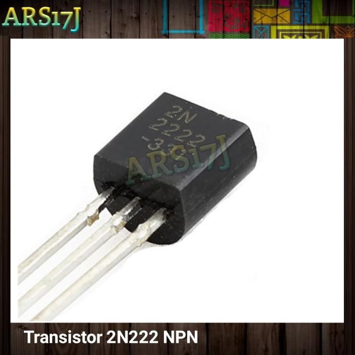 Foto Produk 2N2222 Transistor NPN 40V 0.6a TO-92 untuk Arduino dari ARS17J