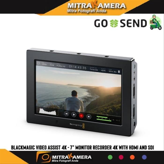 Jual Blackmagic Video Assist 4k 7 Inch Monitor Recorder 4k With Hdmi And Jakarta Barat Husniashoop Tokopedia