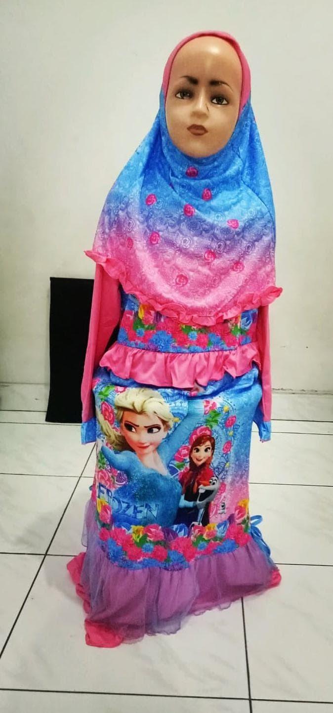 Jual Best Sale Busana Muslim Anak Frozen / Gamis Frozen Pinkish Collection  - Jakarta Barat - DILYA-SHOP  Tokopedia