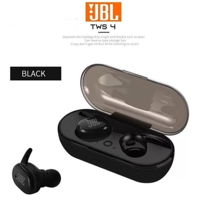 Jual Terlaris New Jbl Tws 4 Wireless Earphone Bluetooth Jakarta Selatan Safe Phone Tokopedia