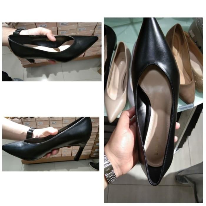 Jual Sepatu Kerja Matahari Wanita Heels Be Bob Black Jakarta