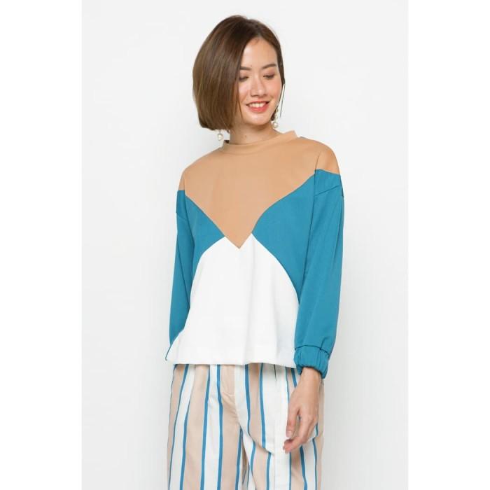Foto Produk Minimal Color Block Sweater - S dari minimal
