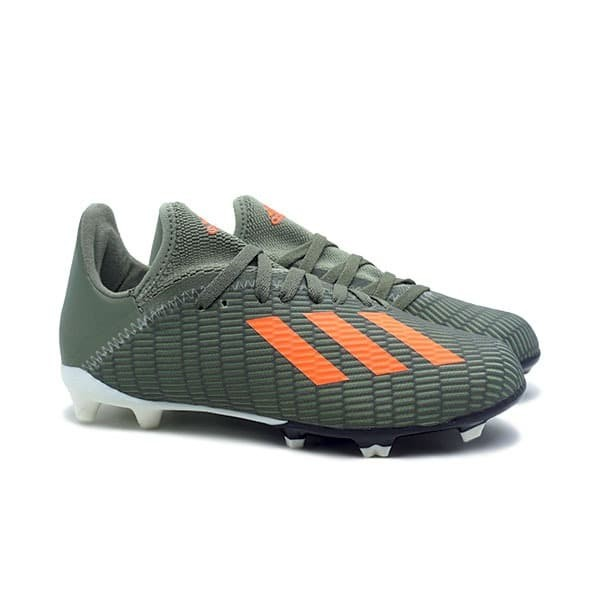 Promo Sepatu Bola Anak Adidas X 19 3 Fg Jr Leggrn Sorang Cwhite