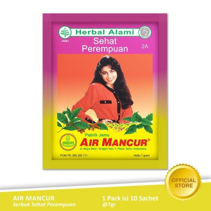 Foto Produk Air Mancur Serbuk Sehat Perempuan Sachet 10x7 gr - Pack dari Air Mancur Official Shop