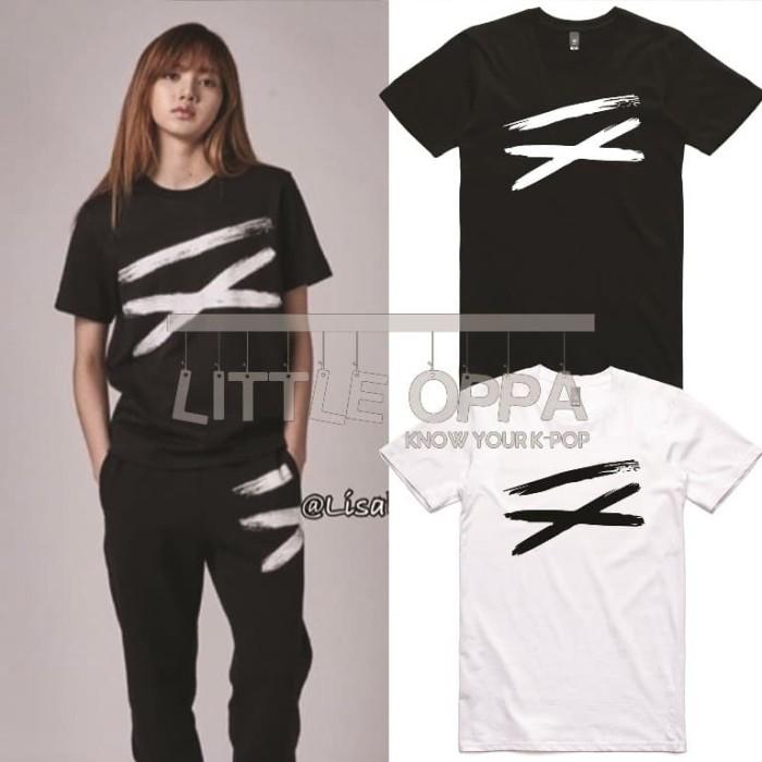 Jual Idol Fashion Blackpink Lisa Ix T Shirt S Jakarta Barat Little Oppa Tokopedia