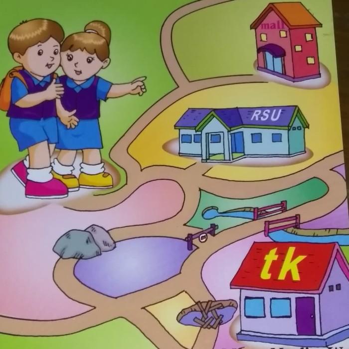 Jual Buku Latihan Mencari Jejak Maze Untuk Anak Taman Kanak Kanak Kab Jepara Sumber Ilmu Kita Tokopedia
