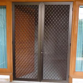 Jual Pintu Expanda Pintu Kawat Nyamuk Pintu Tralis Aluminium