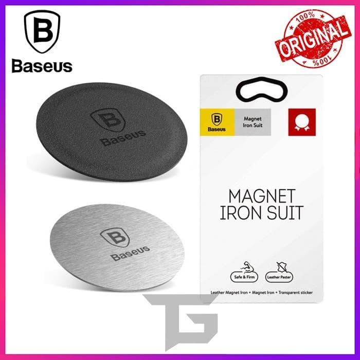 Foto Produk BASEUS MAGNET IRON SUIT MAGNETIC PHONE HOLDER BRACKET PLAT BESI dari TopGear Superhero ID