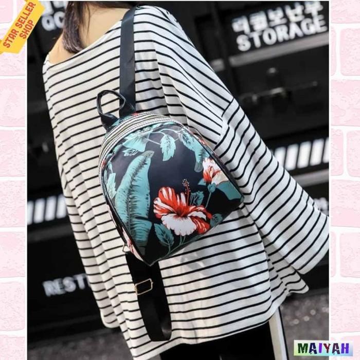 Foto Produk Tas Backpack / Tas Ransel Kecil / Tas Punggung / tas wanita ORIGINAL - Rose dari Spidernet_boyolali