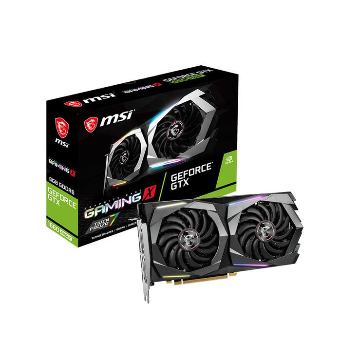 Foto Produk MSI GeForce GTX 1660 SUPER GAMING X 6GB GDDR6 192-bit dari J&J online