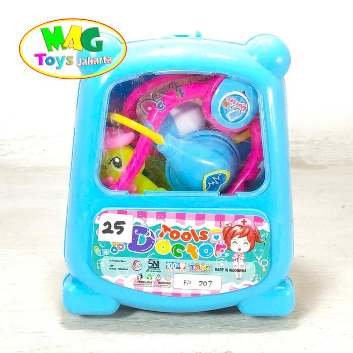 Foto Produk Dokter Set Koper Mainan Dokteran Lokal Doctor Medical Toy dari MAG TOYS