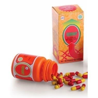 Foto Produk Vermint isi 30 kapsul   Kapsul Ekstrak Cacing (Obat Typus dan Demam) dari vitalitasori