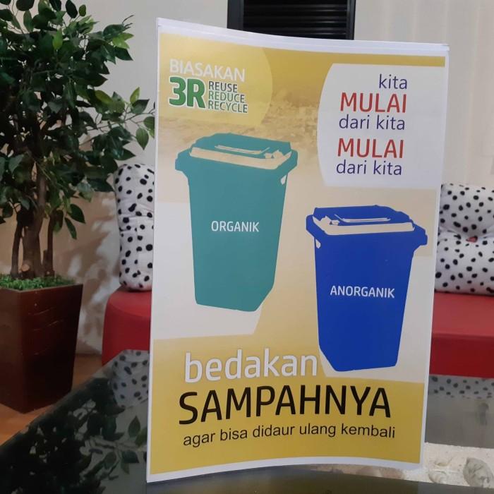 Jual Poster Sampah Organik Anorganik Kab Sleman Syafana Tokopedia
