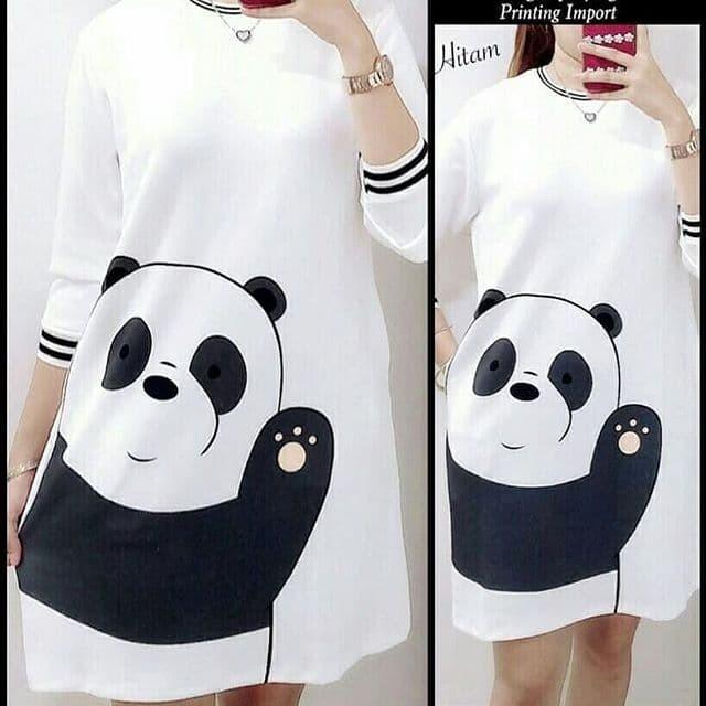 Foto Produk panda tunik / pakaian wanita / atasan wanita murah berkualitas dari Senshi group store bdg