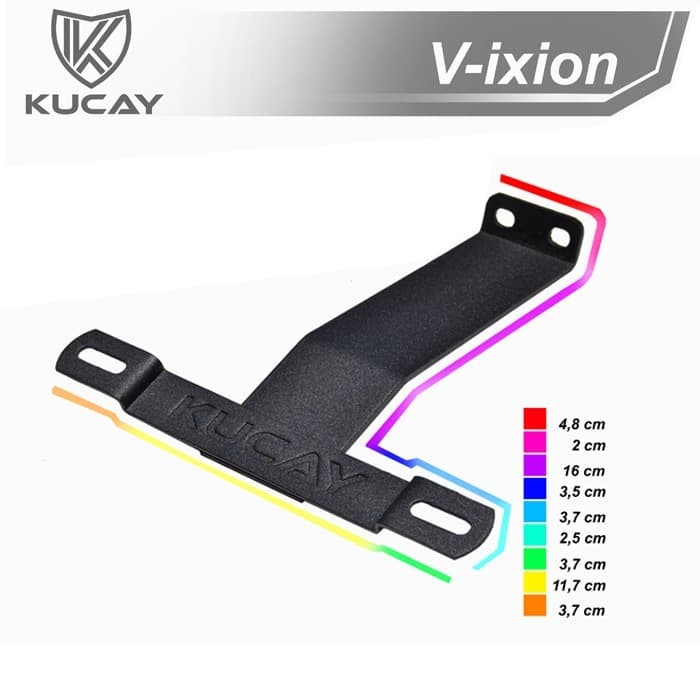harga Dudukan plat yamaha new vixion advance Tokopedia.com