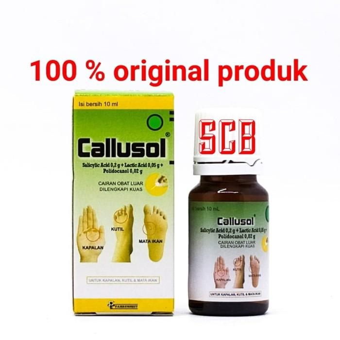 Foto Produk Callusol - Obat Mata ikan,kutil,Kapalan dari Toko Obat SCB