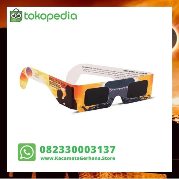 Foto Produk Kacamata Gerhana Matahari Untuk Gerhana Matahari Cincin 26 Des 2019 dari Cahaya Gerhana