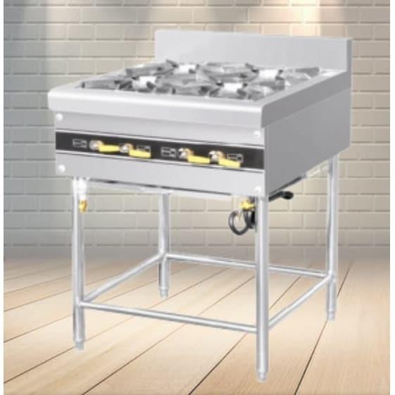 harga Rbd-4 gas open burner w stand/kompor 4 tungku standar resto satf-rbd4 Tokopedia.com