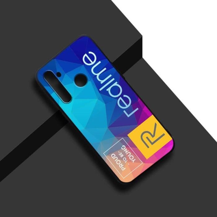 Foto Produk [NEW] Case Realme 5 Pro Premium Silikon Slim Matte Custom Case dari Doki Custom Case